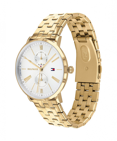 TOMMY HILFIGER Chronograph Armbanduhr DRESSED UP - GOLD